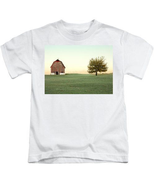 A Wisconsin Postcard Kids T-Shirt