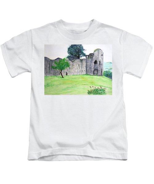 Abergavenny Castle Kids T-Shirt
