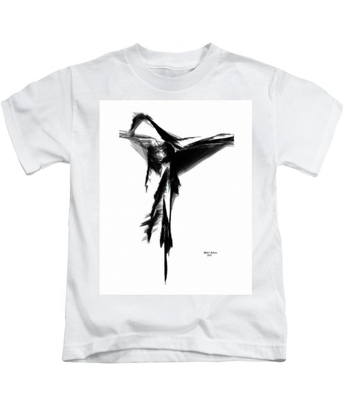 Abstract Flamenco Kids T-Shirt