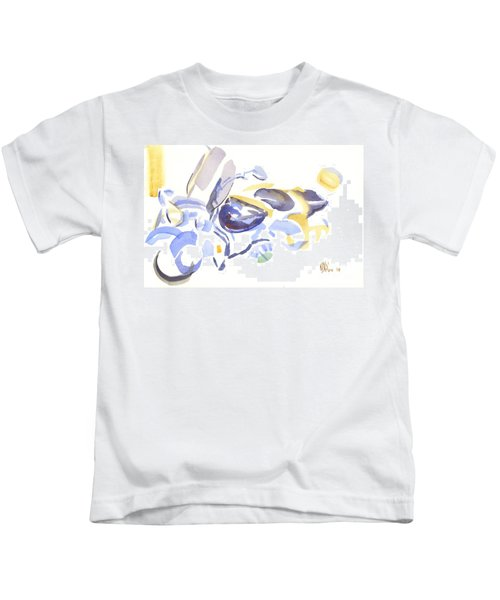 Abstract Motorcycle Kids T-Shirt