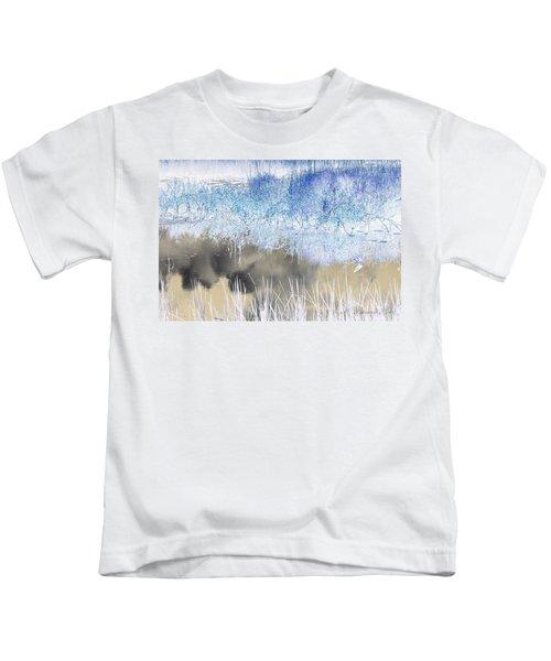 Abstract Marsh  Kids T-Shirt