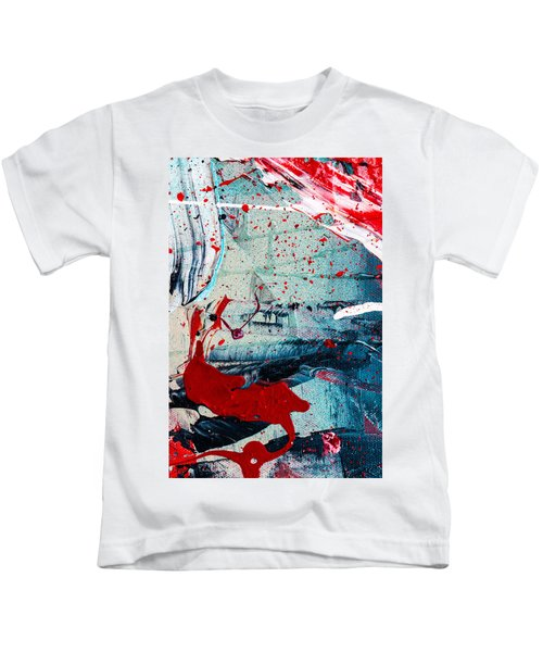 Abstract Original Artwork One Hundred Phoenixes Untitled Number Six Kids T-Shirt