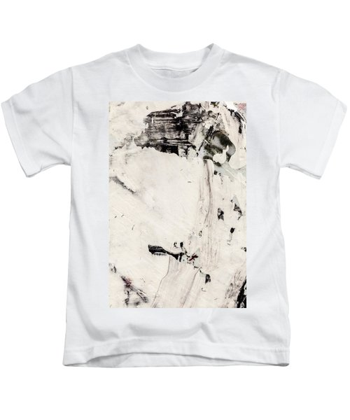 Abstract Original Painting Number Four Kids T-Shirt