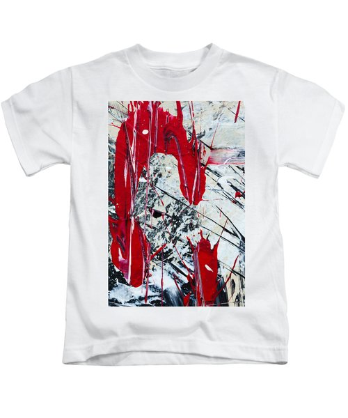 Abstract Original Painting Untitled Nine Kids T-Shirt