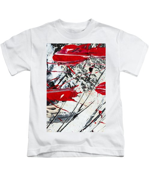 Abstract Original Painting Untitled Ten Kids T-Shirt