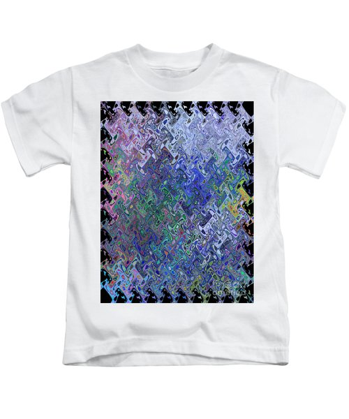 Abstract Reflections Kids T-Shirt