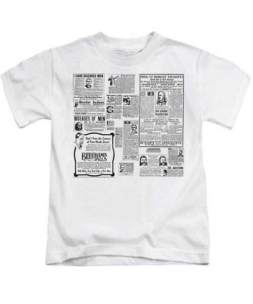 Advert - Edwardian Mens Health Kids T-Shirt