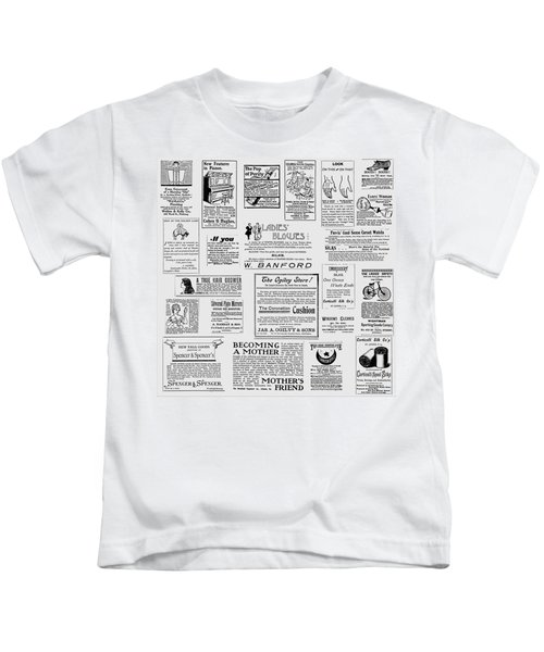 Advert - For The Ladies Kids T-Shirt