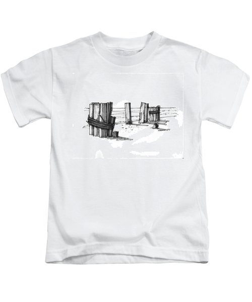 All That Remains Ocracoke 1970s Kids T-Shirt