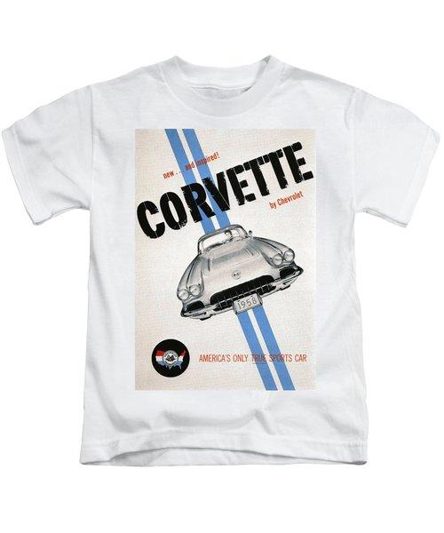 America's Only True Sports Car Kids T-Shirt