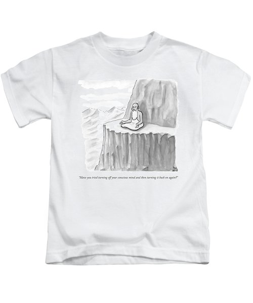 An Old Man Gives Metaphysical Advice Kids T-Shirt