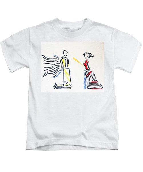 Annunciation Kids T-Shirt
