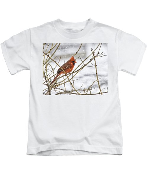 Another Snowy Day Kids T-Shirt