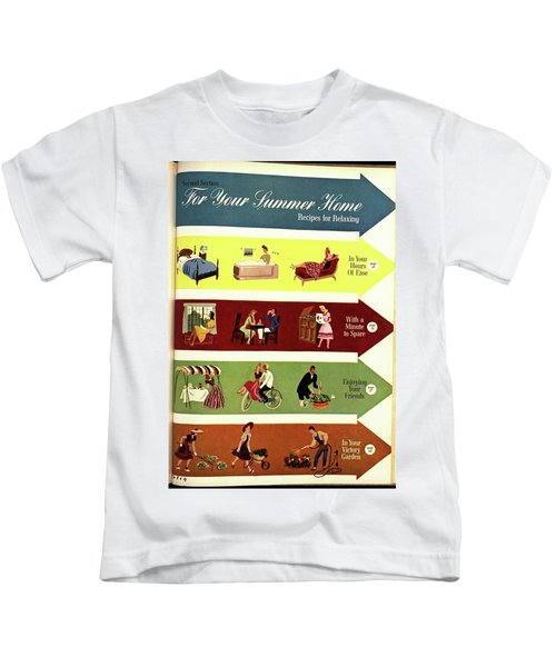 Arrows And Illustrations Kids T-Shirt