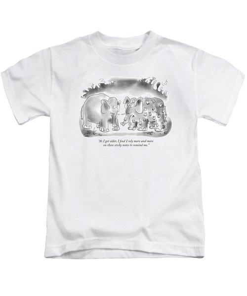 As I Get Older Kids T-Shirt
