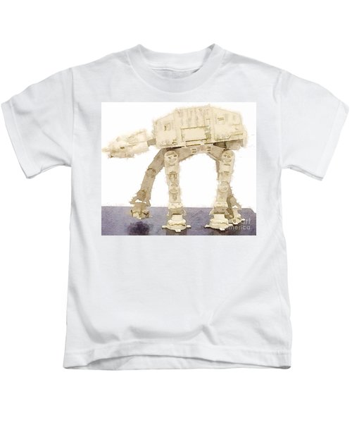At-at All Terrain Armored Transport Kids T-Shirt