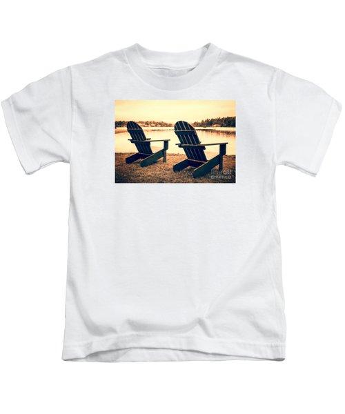 At The Lake Kids T-Shirt