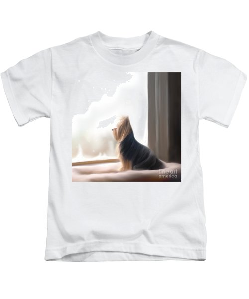 At The Window Kids T-Shirt