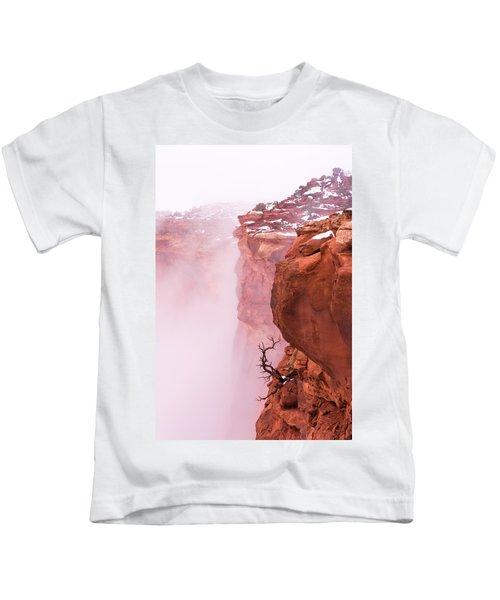 Atop Canyonlands Kids T-Shirt