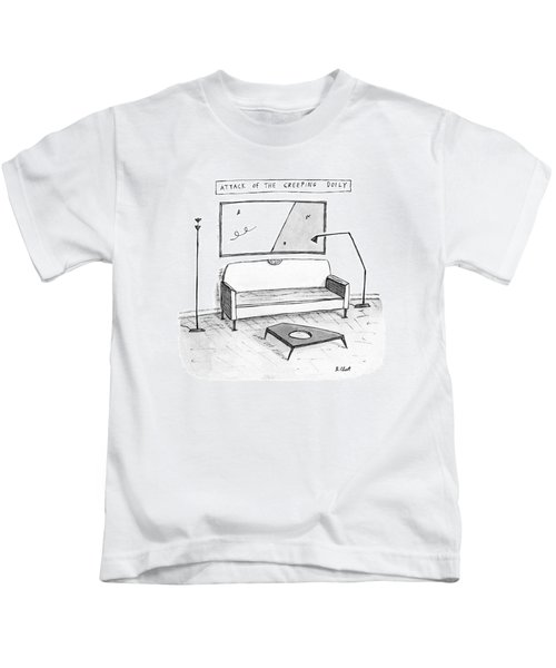 Attack Of The Creeping Doily Kids T-Shirt