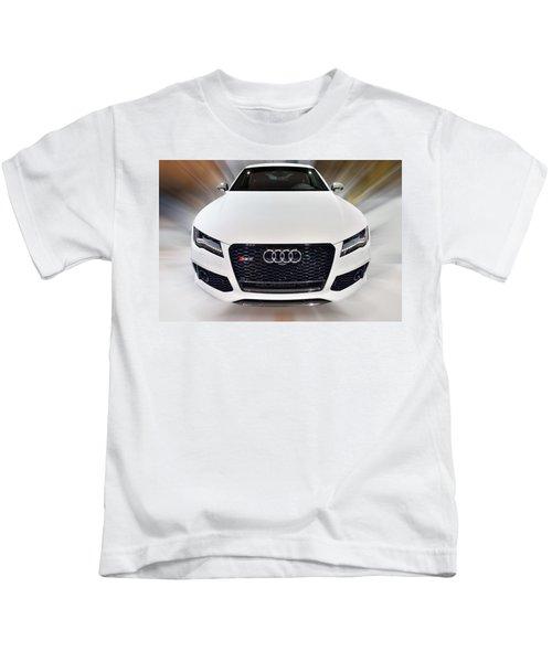 Audi  R S 7 Quattro 2014 Kids T-Shirt
