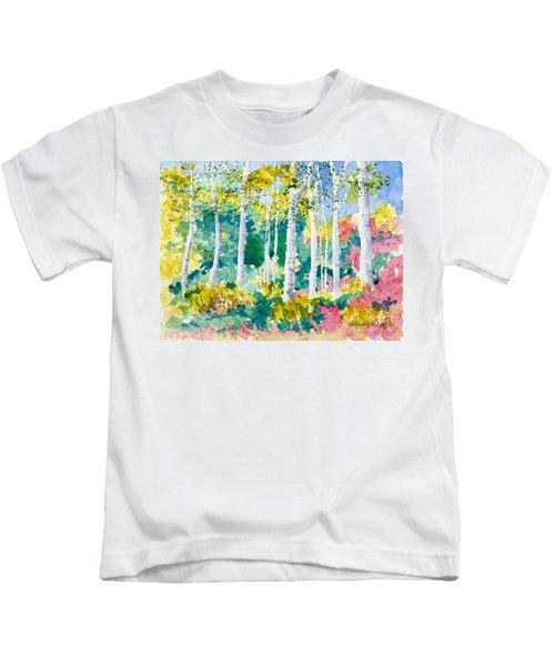 Autumn Aspen Kids T-Shirt