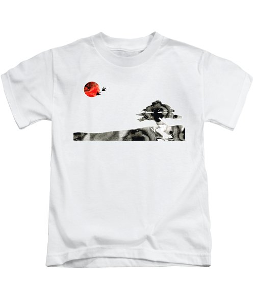 Awakening - Zen Landscape Art Kids T-Shirt