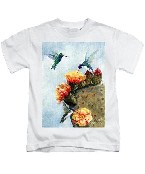 Baby Makes Three Kids T-Shirt