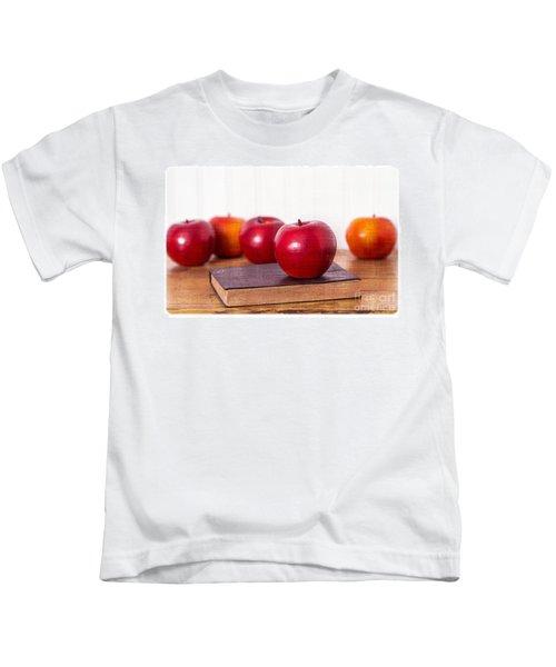 Back To School Apples Kids T-Shirt