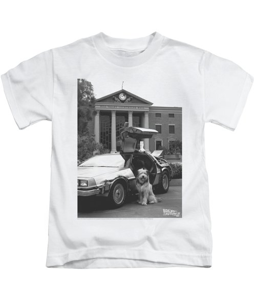 Back To The Future II - Einstein Kids T-Shirt