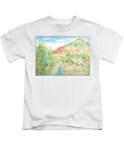 Backyard Sedona Kids T-Shirt