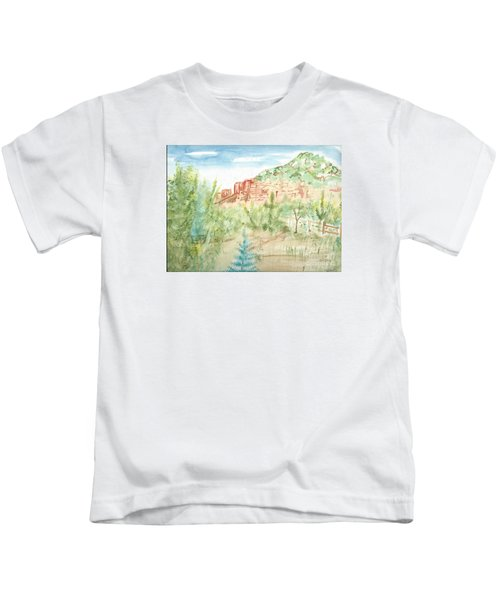 Backyard Sedona Kids T-Shirt