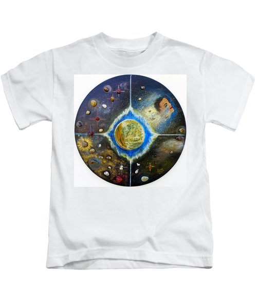 Barack Obama Painting Kids T-Shirt