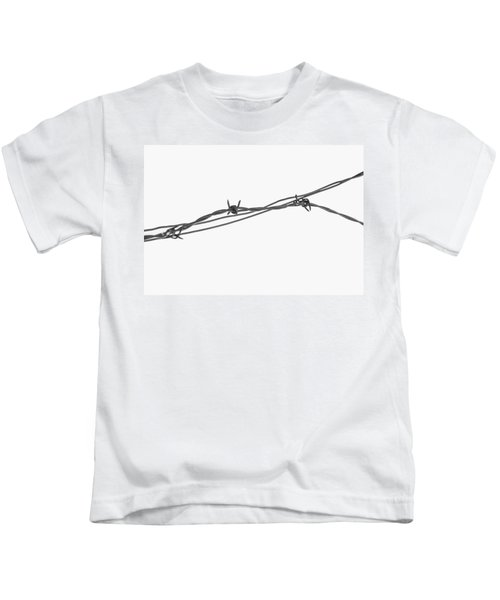 Barbed Wire Kids T-Shirt