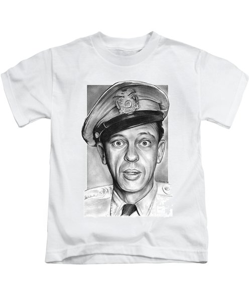 Barney Fife Kids T-Shirt