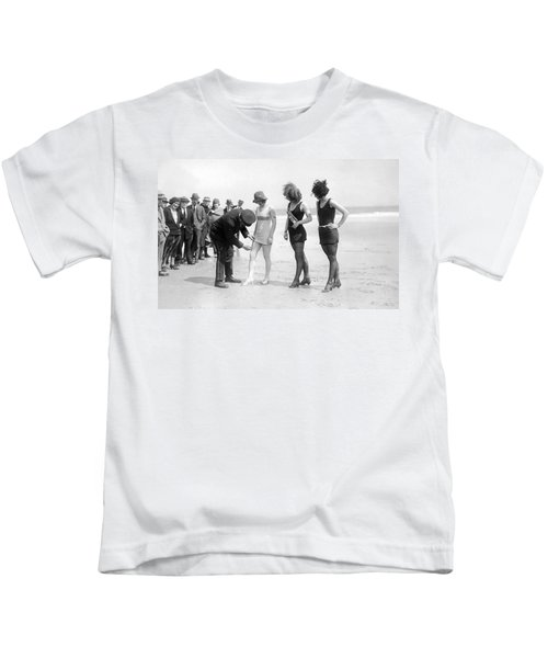 Bathing Suit Fashion Police Kids T-Shirt