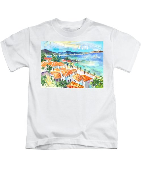 Bay Of Saint Martin Kids T-Shirt
