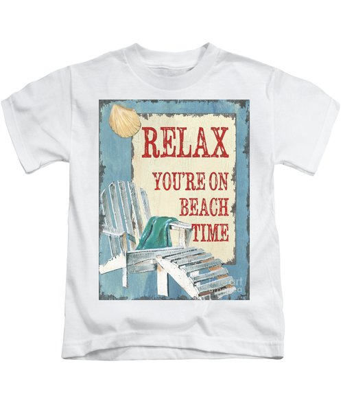 Beach Time 1 Kids T-Shirt