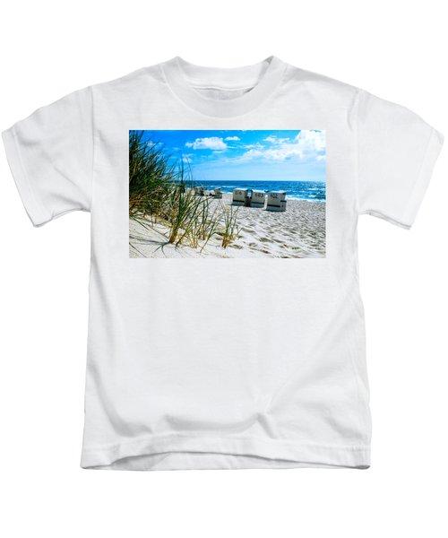 Behind The Dunes -light Kids T-Shirt
