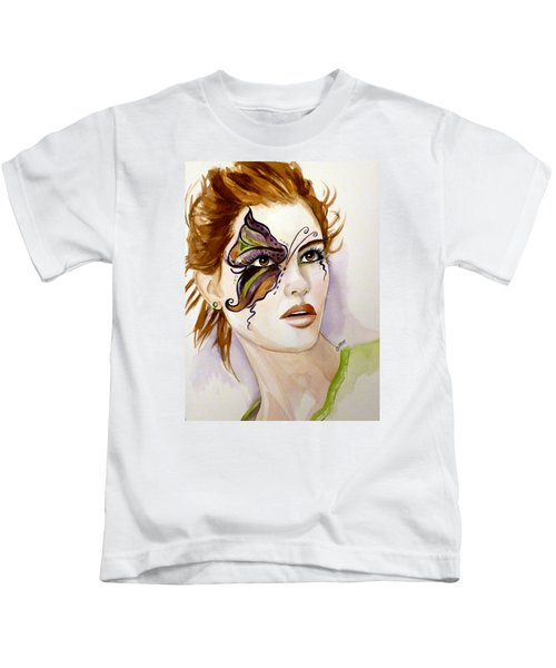 Behind The Mask Kids T-Shirt