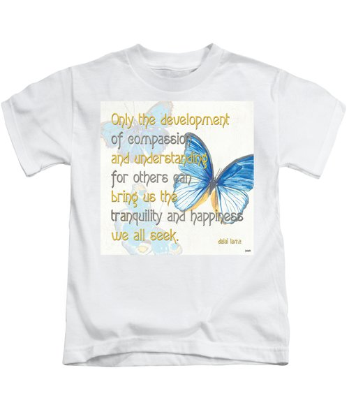 Bella Butterflies 1 Kids T-Shirt