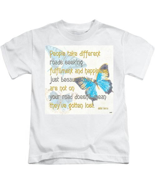 Bella Butterflies 2 Kids T-Shirt
