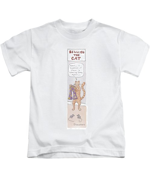 Belling The Cat 'well Kids T-Shirt