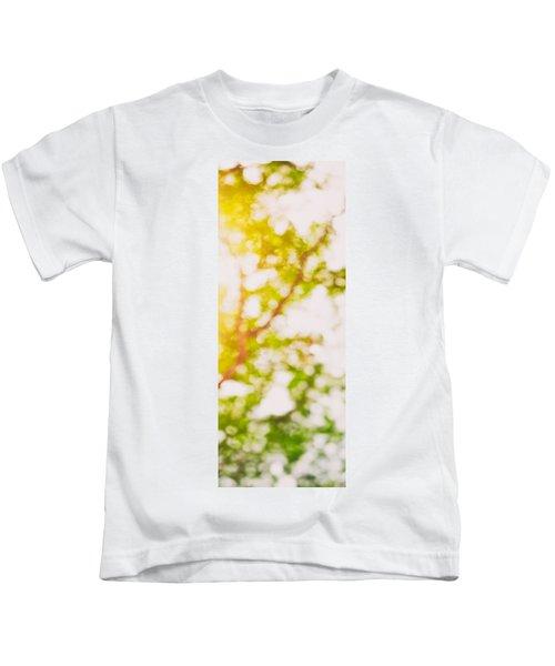 Beneath A Tree  14 5194  Diptych  Set 2 Of 2 Kids T-Shirt