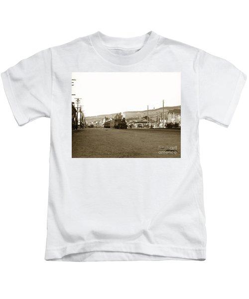 Berkeley California Train Station Circa 1902 Kids T-Shirt