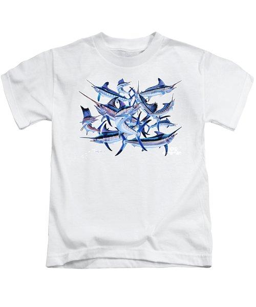 Bills Off0044 Kids T-Shirt by Carey Chen