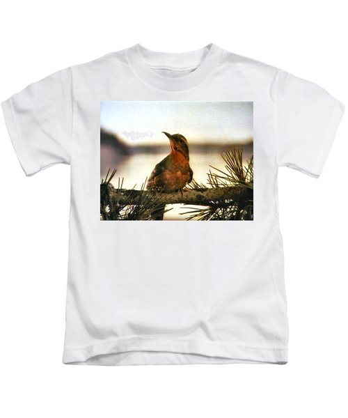 Bird On The Wire Kids T-Shirt