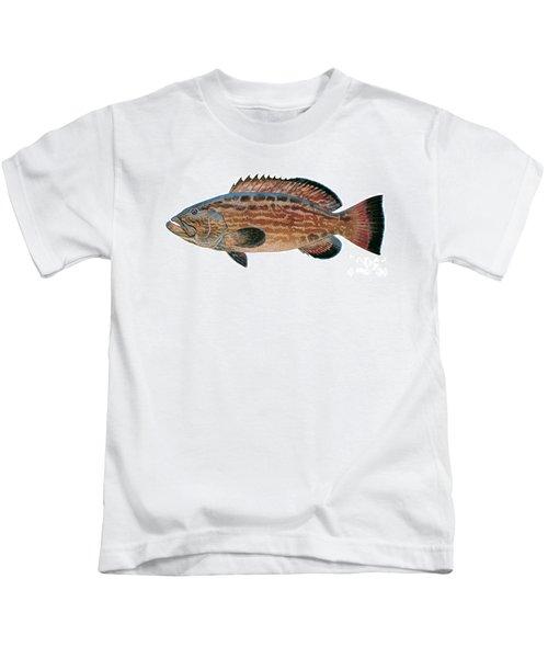 Black Grouper Kids T-Shirt