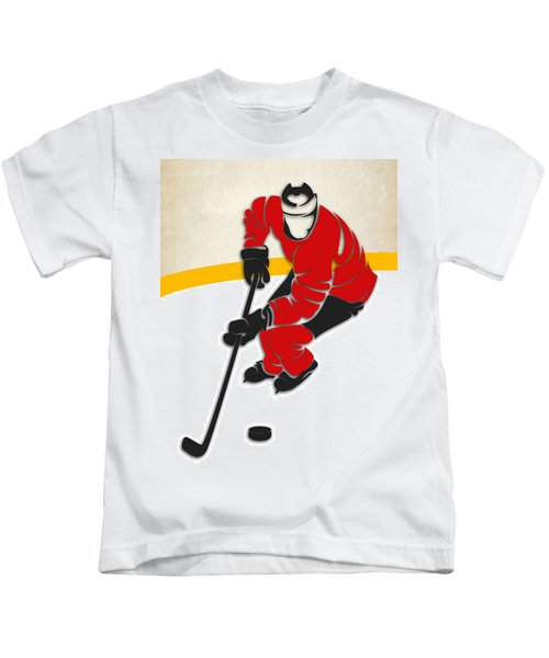 Blackhawks Hockey Rink Kids T-Shirt