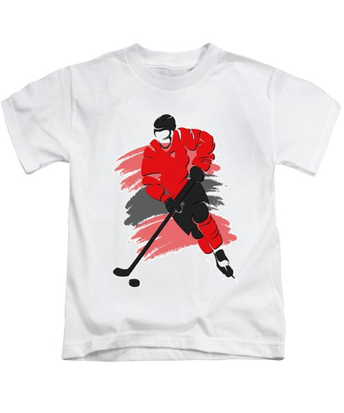 Blackhawks Shadow Player2 Kids T-Shirt